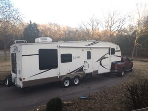 We bought an RV – a 31ft 2007 Laredo by Keystone with slideout