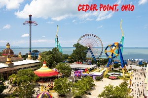 Rollercoaster fun at Cedar Point